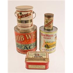 Vintage Cans & Advertising Tins