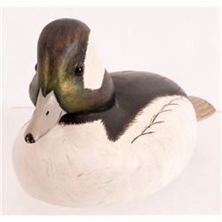 Kilkelly Wood Carved Bufflehead Duck Decoy