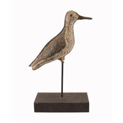 Painted Tin Shorebird Decoy