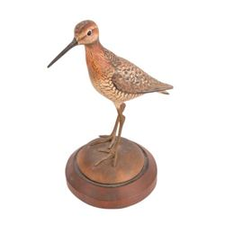 William Gibian Carved Shorebird