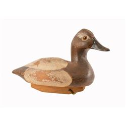 P. Korman Miniature Canvasback Duck Decoy