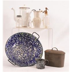 Collection Of Graniteware & Salesman Samples