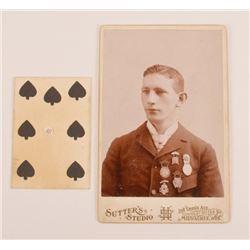 2 Wild West Show Trick Shot Cards