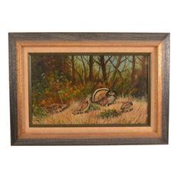 WR Thrasher Pheasant Painting