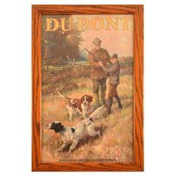 DuPont Smokeless Powder Calendar Top