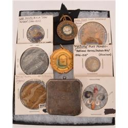 Collection Of Tokens Trap Shoot Medals & Pins