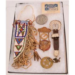Western Items & Indian Beaded Knife Sheath