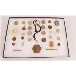 Collection Of Winchester & Western Medals & Tokens