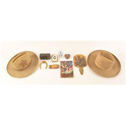 Collection Of Texas Centennial Items