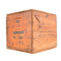 Winchester Batteries Wooden Crate