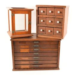 Old Printers Cabinet & Chest