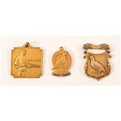 Federal DuPont Skeet Shooting Medals