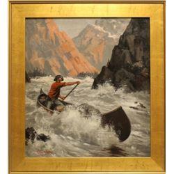 R. L. Harrington Oil Painting