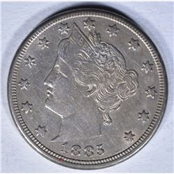 1885 LIBERTY NICKEL XF/AU