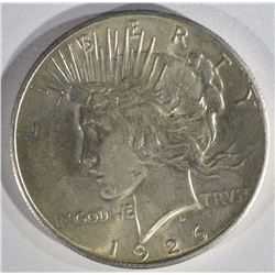 1926 PEACE DOLLAR BU LIGHT SCRATCH