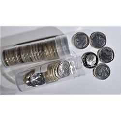 69 PROOF SILVER DIMES: DATES 1956-64