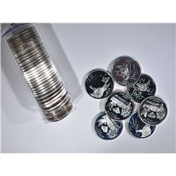 ROLL OF PROOF SILVER 2003-S STATE QUARTERS