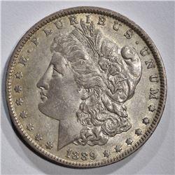 1889-O MORGAN DOLLAR, AU