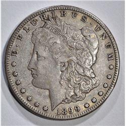 1899-S MORGAN DOLLAR, XF/AU