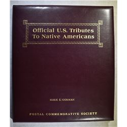 OFFICIAL U.S. TRIBUTE TO NATIVE AMERICANS