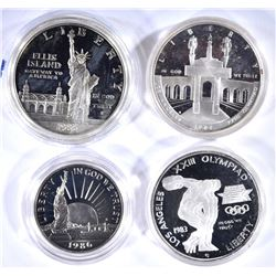 1986 S STATUE of LIBERTY 2-COIN SET