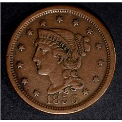 1856 LARGE CENT XF