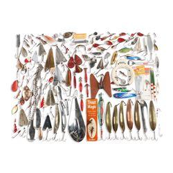 Mixed Lot of Metal Fishing Lures