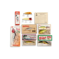 Mixed Lot of 8 Fishing Lures