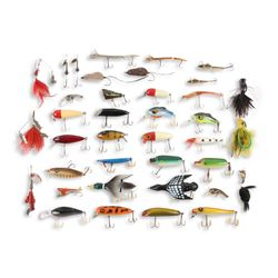 Mixed Lot of 39 Fishing Lures
