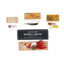 Mixed Lot of Boxed Lures