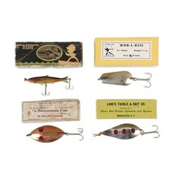 Lot of 4 NY Lures