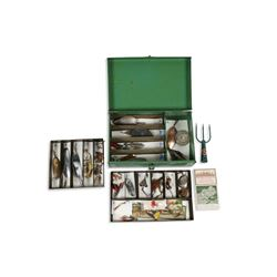 Collection of Pflueger Fishing Lures