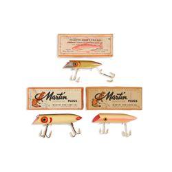 Martin Salmon Plugs in Box