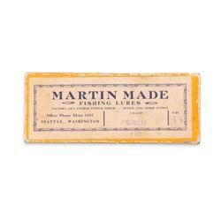 Martin Made Fishing Lures Box