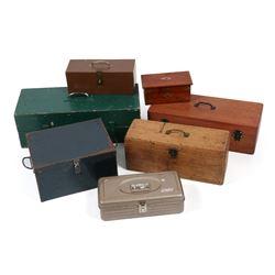 Antique Tackle Boxes