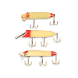 Heddon Red and White Lures