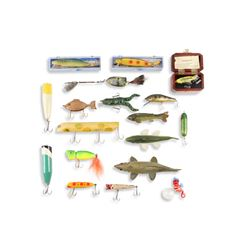 Folk and Contemporary Fishing Lures