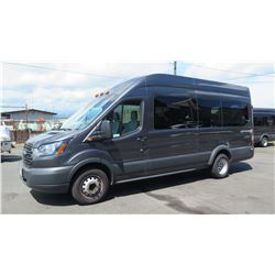 2018 Ford Transit T-350 4-Door 14-Passenger Van, Mileage 19,607 (Purchased for $52,283)