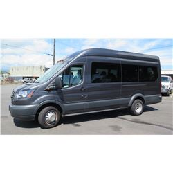 2017 Ford Transit T-350 U4X 14-Passenger Van, Mileage 41,740 (Purchased for $52,394)