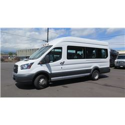 2017 Ford Transit T-350 U4X 14-Passenger Van, Mileage 74,512 (Purchased for $51,937)