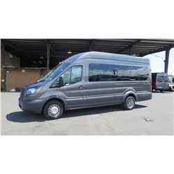 2017 Ford Transit T-350 4-Door 14-Passenger Van, Mileage 28,717 (Purchased for $51,894)