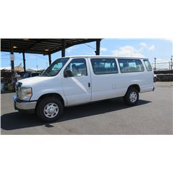 2010 Ford E-350 Van, Mileage 365,988