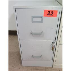 2-Drawer Vertical File Cabinet w/ Keys
