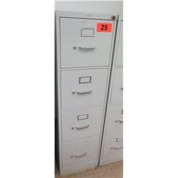 4-Drawer Vertical File Cabinet w/ Keys