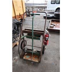 Oxygen and Acetyline Cart