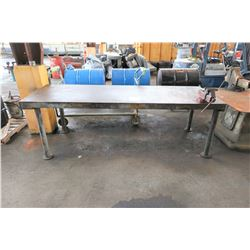 Large Metal Work Table