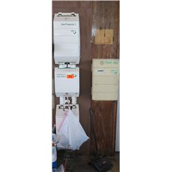 Zee First Aid Kit and Eyewash Station