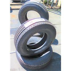 Qty 4 BF Goodrich Commercial All Season 2 Tires LT245/75R16