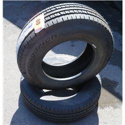 Qty 2 BF Goodrich Commercial All Season Tires LT225/75R16
