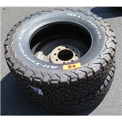 Qty 2 BF Goodrich All Terrain Baja Champion Tires LT245/70R17